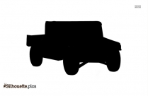 Truck Silhouette Free Vector Art