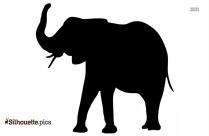 Cape Buffalo Silhouette Vector
