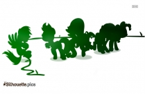 Picture Of Tug War Silhouette