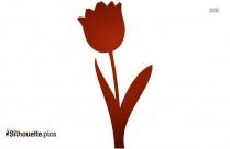 Fall Flower Garden  Clipart Image