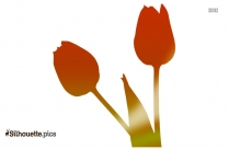 Tulip Flower Silhouette Png