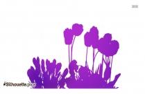 Crocus Flower Clip Silhouette