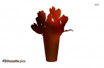 Vavasseur Fleur Flowers Silhouette