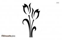 Botanicals Flower Tattoos Silhouette