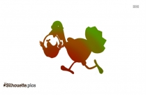 Easter Chick Clip Art Silhouette