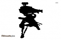 Gopro Quadcopter Silhouette Image And Vector