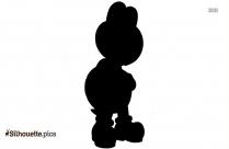 Mario Penguin Cartoon Silhouette