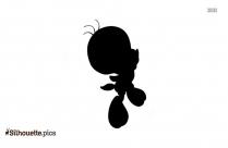 Free Tweety Bird Silhouette Image