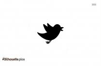 Firefox Animal Silhouette, Angry Bird Vector Illustration