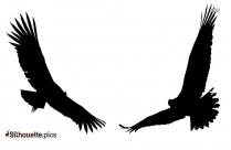 Cartoon Condor Bird Silhouette