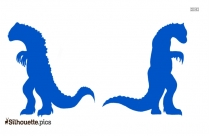 Two Minilla Silhouette Picture