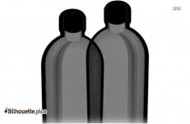 Soda Bottle  Clipart || Coke Bottle Silhouette