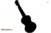 Ukulele Silhouette Image And Vector