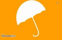 Umbrella Clip Art Vector Image Silhouette