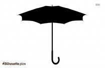 Umbrella Clipart Silhouette Vector And Graphics Illustration