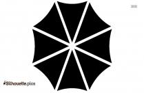 Umbrella Design Silhouette Image