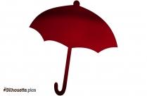 Simple Plain Umbrella Silhouette