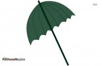 Heart Umbrella Silhouette Vector And Graphics
