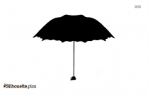Umbrella Silhouette Clipart