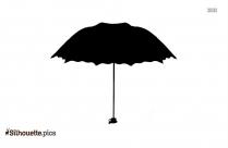 Umbrella Love Silhouette Image And Vector