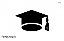Undergraduate Degree Icon Vector Silhouete