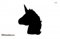 Unicorn Emoji Symbol Silhouette