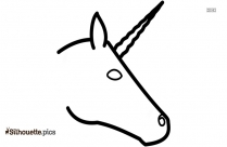 Unicorn Outline Silhouette Image