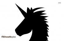 Unicorn Silhouette Art