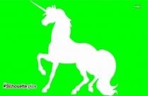 Unicorn Silhouette Free Vector Art