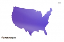 United States Map Clip Art Image