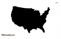 United States Of America Silhouette