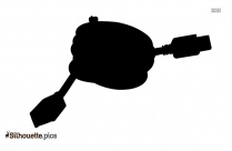 Usb Silhouette Image Clipart