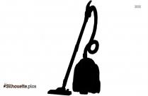 Vacuum Silhouette Icon