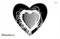 Heart Drawings Silhouette Clipart