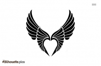 Valkyrie Wing Logo Silhouette For Download