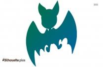 Cartoon Bat Wings Silhouette Free Vector Art