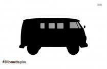 Van Ride Vector Silhouette