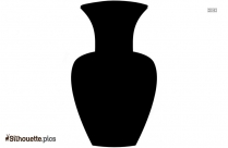 Vase Cartoon Drawing Logo Silhouette For Download