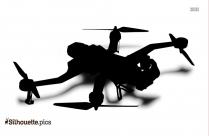 Vector Drone Silhouette