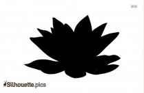 Svg Lotus Silhouette
