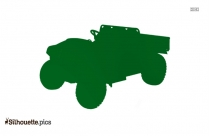 Vector Of Gator Vehicles Silhouette