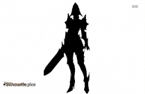 Goku Dragon Ball Fighter Silhouette