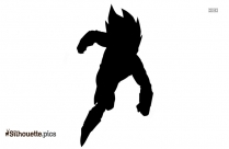 Vegeta Silhouette, Dragon Ball Tattoo