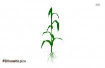 Vegetative Crop Silhouette