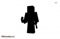 Black Marvel Avenger Silhouette Image