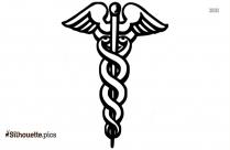 Veterinary Symbol Logo Silhouette For Download