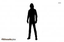 Vibe Character Silhouette Free Vector Art
