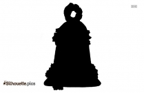 Wedding Bell Silhouette Clipart