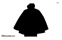 Victorian Man Vest Silhouette Clip Art