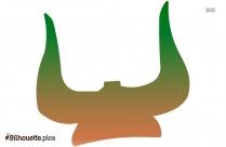 Viking Helmet Drawing Silhouette